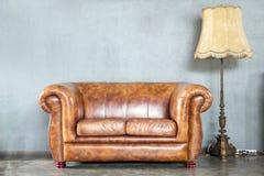 klassisk sofa Arkivbild