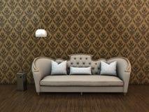 Klassisk soffa Royaltyfri Bild