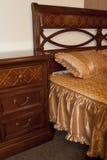 Klassisk sovrummöblemangdetalj Royaltyfri Foto