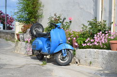 klassisk sparkcykel Royaltyfria Foton