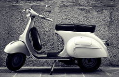 klassisk sparkcykel fotografering för bildbyråer