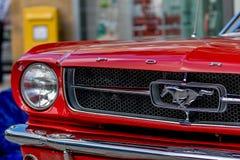 Klassisk sportig cabriolet av 60-tal Royaltyfri Foto