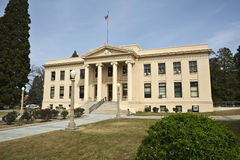 klassisk ståndsmässig domstolsbyggnad Royaltyfri Bild