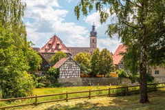 Klassisk stad av Forchheim Royaltyfri Foto
