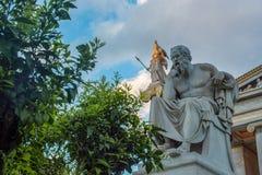 Klassisk statySocrates Royaltyfria Foton
