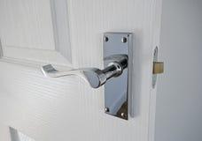 klassisk stil för dörrhandtag royaltyfri bild