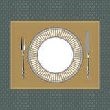 Klassisk stil 1 för tabellinbrott royaltyfri illustrationer