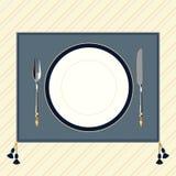 Klassisk stil 4 för tabellinbrott stock illustrationer