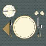 Klassisk stil 6 för tabellinbrott royaltyfri illustrationer