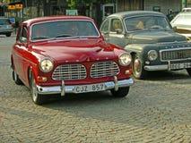 Klassisk svensk bil royaltyfria foton