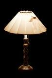 Klassisk tabelllampa med lampor på Arkivbilder