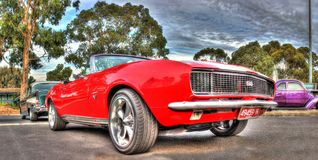 Klassisk 60-tal Chevy SS Camaro Arkivfoto