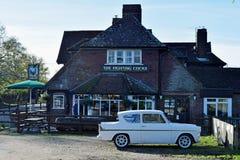 Klassisk 60-tal Ford Anglia för tappning Royaltyfri Bild