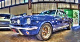 Klassisk 60-tal Ford Mustang Arkivbild