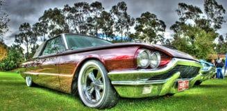 Klassisk 60-tal Ford Thunderbird Arkivfoto