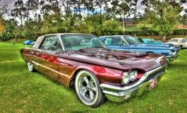 Klassisk 60-tal Ford Thunderbird Arkivbilder