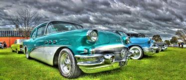 Klassisk 50-talamerikan Buick Royaltyfri Bild