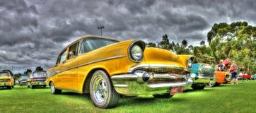 Klassisk 50-talamerikan Chevy Arkivbild