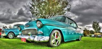 Klassisk 50-talamerikan Chevy Royaltyfria Foton