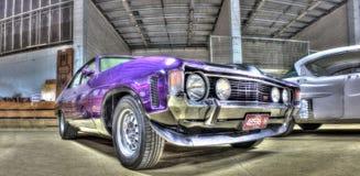 Klassisk 70-talaustralier Ford Falcon Royaltyfri Foto