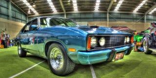 Klassisk 70-talaustralier Ford Falcon Royaltyfri Bild