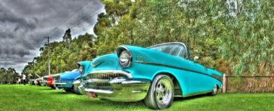Klassisk 50-talChevy cabriolet Arkivbilder
