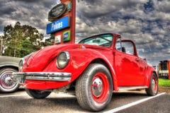 Klassisk 70-taltysk Volkswagen Beetle Royaltyfria Bilder