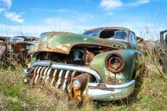 Klassisk tappning Buick, skrotbil arkivfoto
