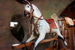 Klassisk tappning som vaggar hästen Royaltyfri Fotografi