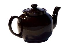 klassisk teapot Arkivfoton