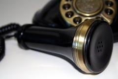 klassisk telefon Arkivbild