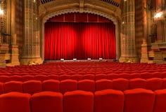 klassisk theatre Royaltyfri Bild