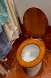 klassisk toalett Fotografering för Bildbyråer