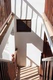 Klassisk trappa Arkivfoton