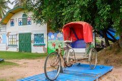 Klassisk trehjuling Arkivfoto