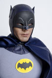Klassisk TV-program Batman och Robin Hot Toys Action Figures Arkivfoton