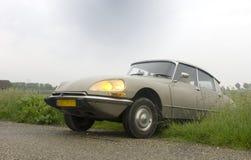 klassisk vägtappning för bil Royaltyfria Foton
