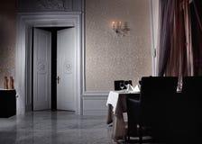 Klassisk vit interior Royaltyfri Fotografi