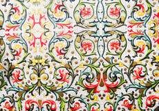 klassisk wallpaper Arkivbild
