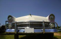klassisk white för bil Royaltyfria Bilder