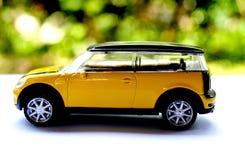 klassisk yellow för bil Fotografering för Bildbyråer