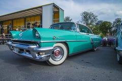 Klassiska amerikanska bilar Royaltyfri Fotografi