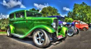 Klassiska amerikanska Ford arkivbild