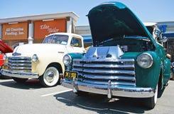 Klassiska amerikanska väljer åker lastbil upp Royaltyfri Fotografi