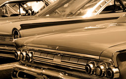 klassiska bilar royaltyfri bild