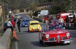 Klassiska bilar 021 Arkivbild