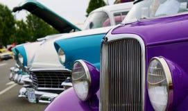 klassiska bilar Royaltyfria Foton