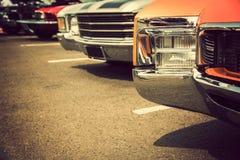 klassiska bilar Royaltyfri Foto