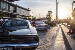 klassiska bilar Arkivfoto