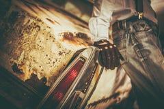Klassiska bilkänslor för skräp Arkivbilder
